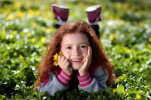 happy girl - Healthy Chats for Tweens and Moms