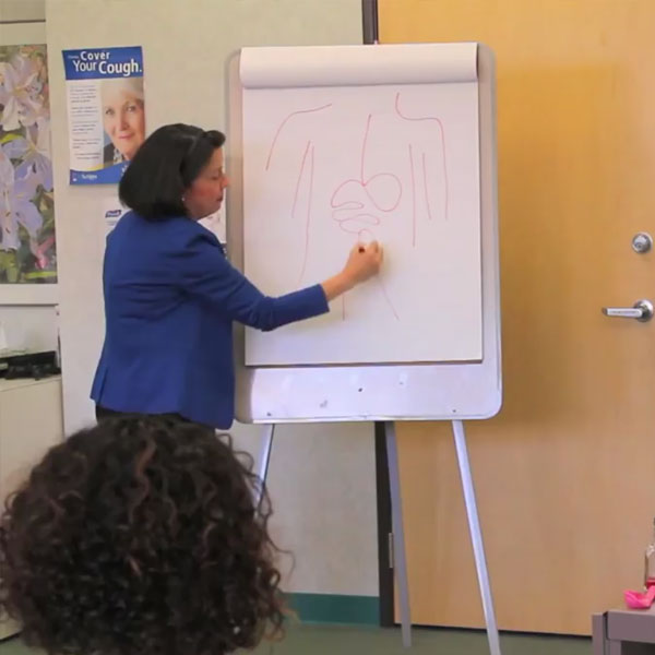 teacher dr. chrystal de freitas - Healthy Chats for Tweens and Moms