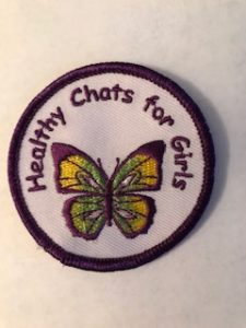 healthy chats for girls button - Healthy Chats for Tweens and Moms