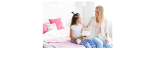 mom and daughter - Healthy Chats for Tweens and Moms